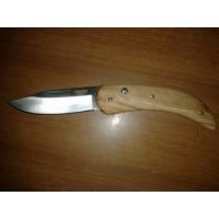 coltellino impugnatura in olivo
