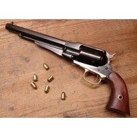 REMINGTON TEXAS NEW MODEL ARMY 380 CON FUSTO IN ACCIAIO BRUNITO