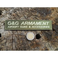 PATCH STRISCIA G&G ARMAMENT SOFTAIR GREEN