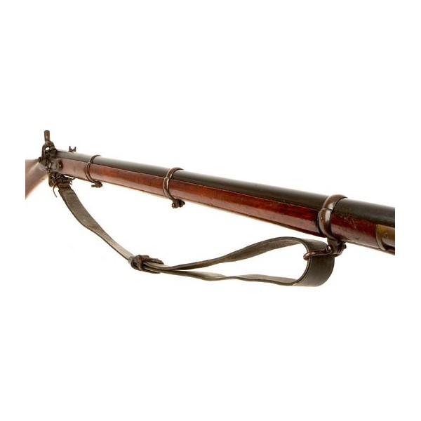 Cinghia in Pelle Fucile Caccia con motivo HSN 348 armi bretelle fusils Cinghia Gun Sling