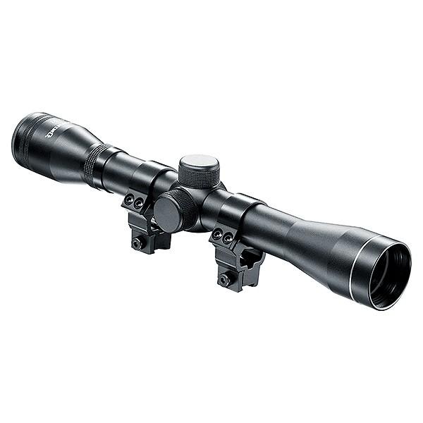 NIKKO Stirling Mountmaster 6x40 AO Half Mil dot cannocchiale da puntamento tramite 9-11mm Anelli di Montaggio